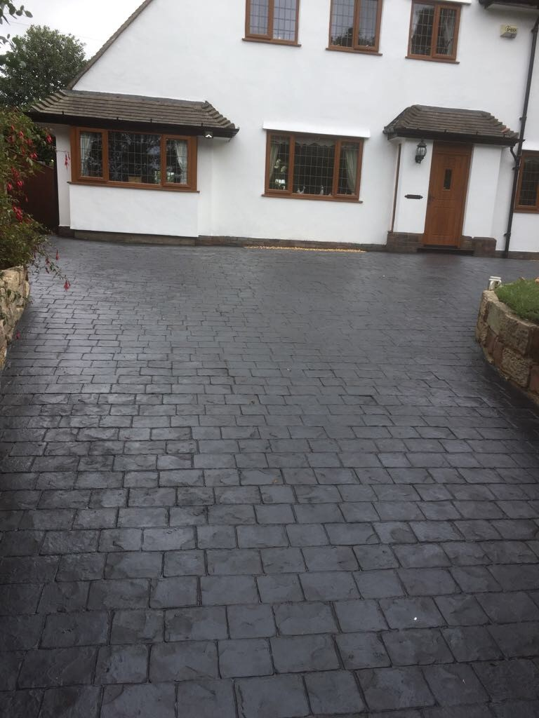 London Cobblestones in classic grey